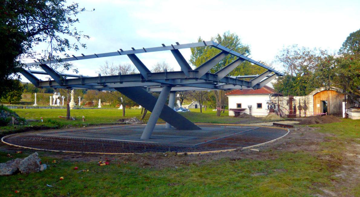 Eiermuseum Winden am See - Fundierung