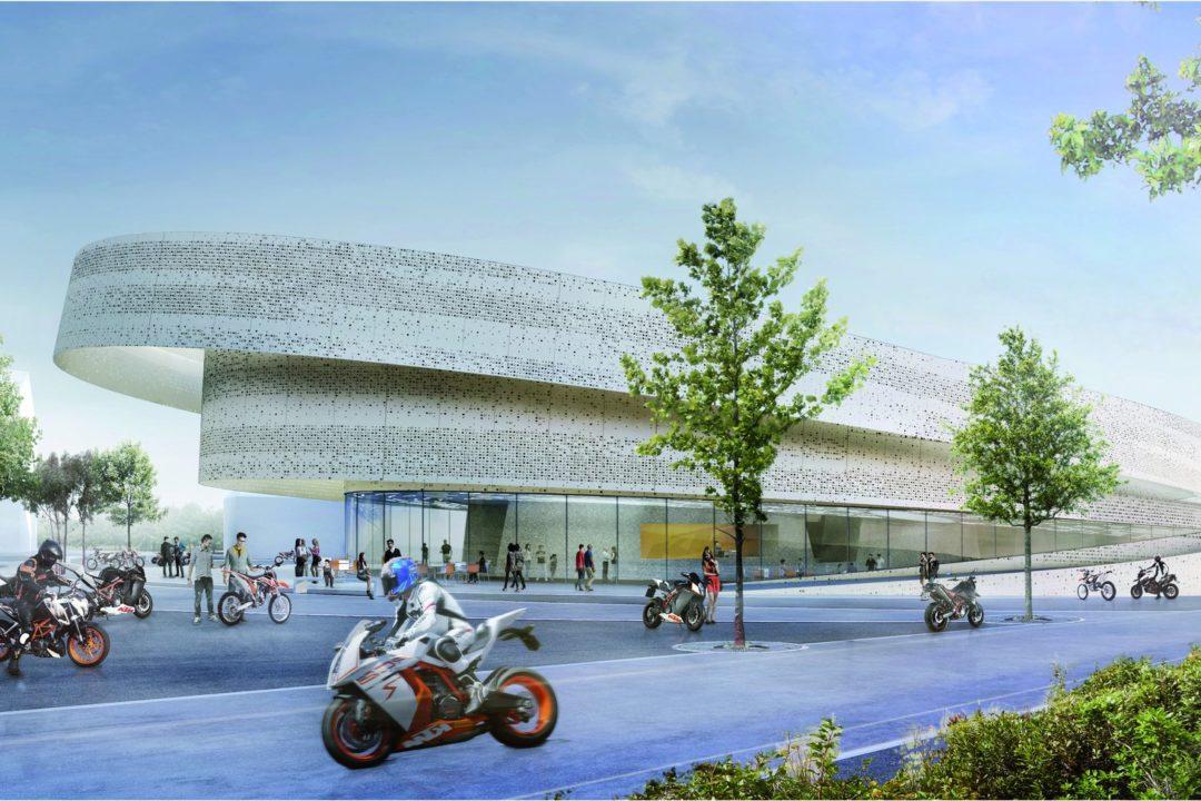 KTM-Museum Designing Rendering