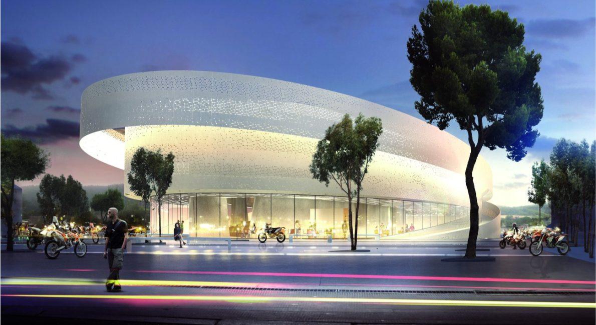KTM-Museum Planungs Rendering